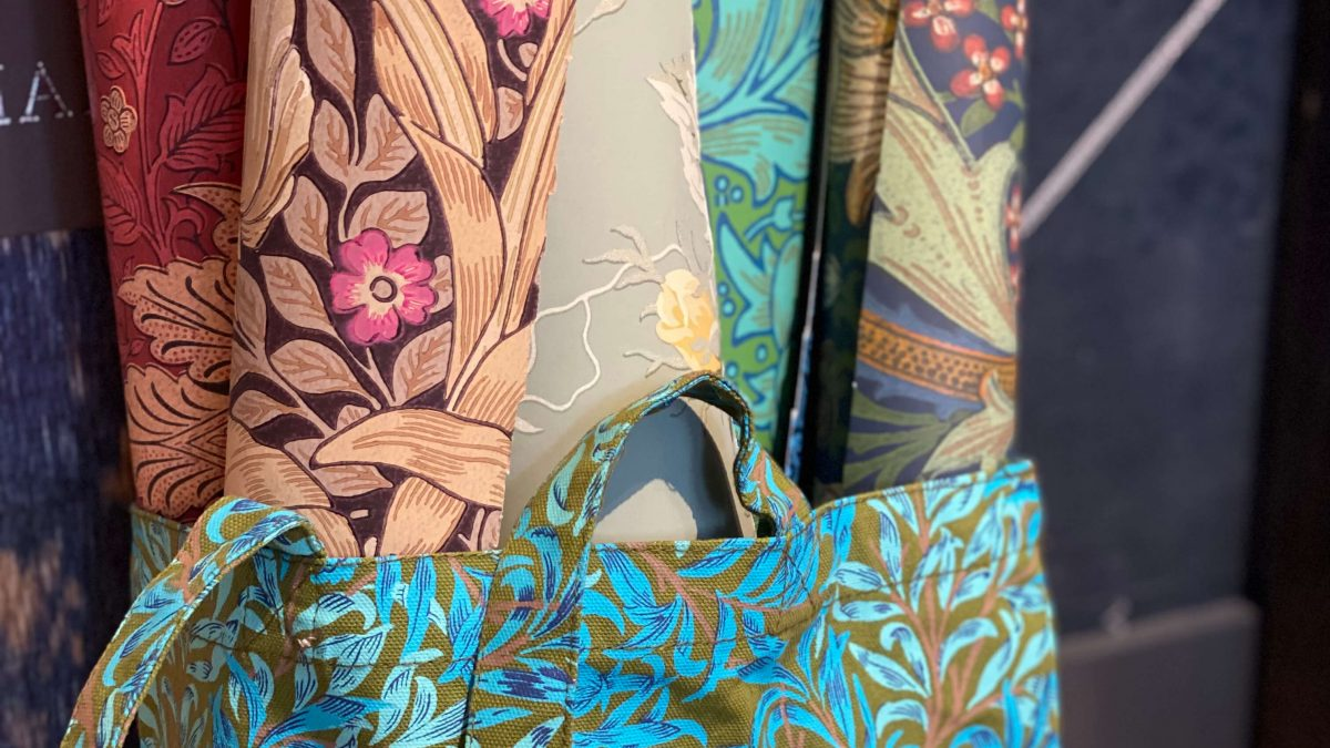 Mooie gordijnen op maat_Morris&Co_Behang